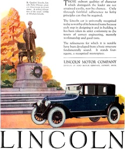 Lincoln Cars -1924A