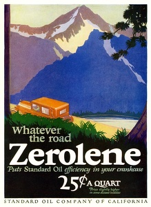 Zerolene Oil -1930'sA
