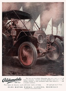 Oldsmobile Cars -1910A