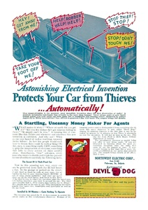 Devil Dog Anti-Theft Warning -1930A