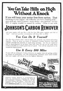Johnson's Carbon Remover -1919A