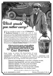 Johnson's Radiator Cement -1920B