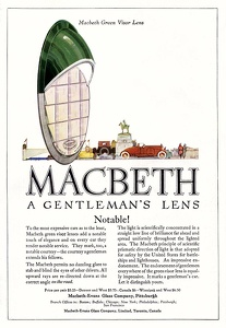 Macbeth Automotive Headlight Lenses -1920A