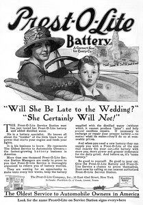 Prest-O-Lite Batteries -1919A