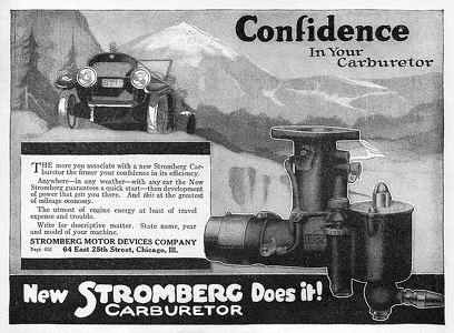 Stromberg Carburetors -1919A