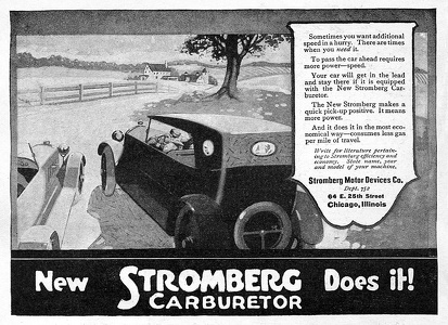 Stromberg Carburetors -1920A