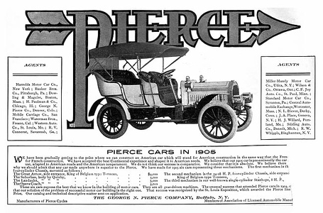 Pierce-Arrow Cars -1905A
