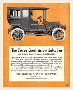 Pierce-Arrow Cars -1906B