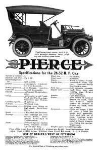 Pierce-Arrow Cars -1906E
