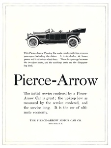 Pierce-Arrow Cars -1918A