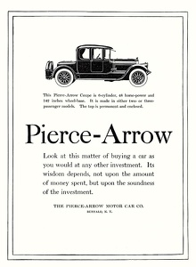 Pierce-Arrow Cars -1918B
