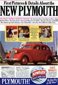 Plymouth Cars -1936A