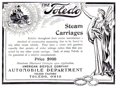Toledo Steam Carriages -1900A
