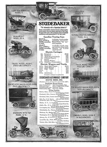 Studebaker Cars and Trucks -1906A
