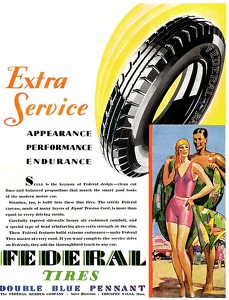 Federal Tires -1929A