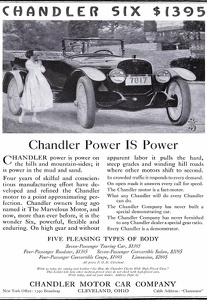 Chandler Motor Cars -1917A