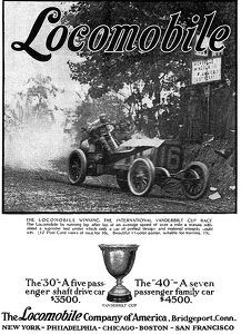 Locomobile Cars -1909A