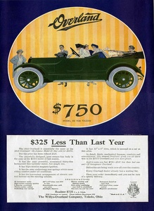 Willys-Overland Cars -1915A