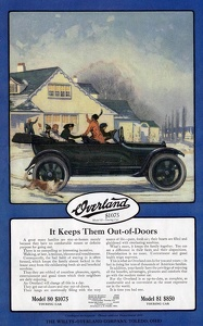 Willys-Overland Cars -1915B