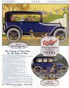 Willys-Overland Cars -1916A
