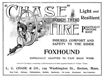 Chase Bicycle Tires -1898A