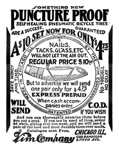 Vim Puncture Proof Tires -1901A