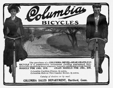 Columbia Bicycles -1901A