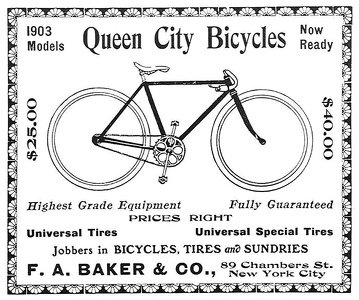 Queen City Bicycles -1903A