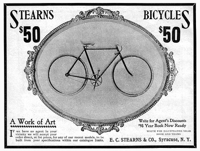 Stearns Bicycles -1898A