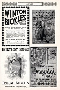 Winton, Monarch, and Tribune Bicycles,  and Imperial Wheels -1897A
