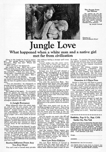 Jungle Love -1927A