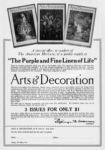 Arts and Decoration -1925A