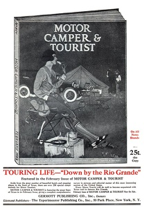 Motor Camper and Tourist -1925A