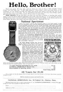 National Sportsman -1909A