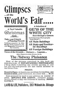 Glimpses of the World's Fair -1894A