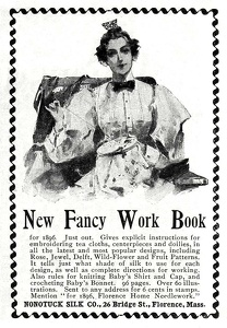 Nonotuck Silk Fancy Work Book -1896A