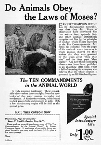 Ten Commandments in the Animal World -1925A