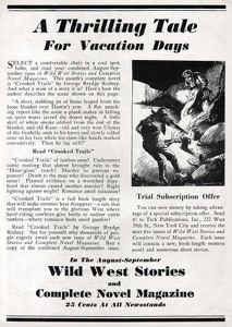 Wild West Stories and Complete Novel Magazine -1933A