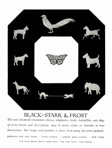 Black Starr & Frost Jewelers -1926A
