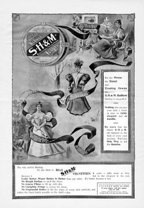 S H and M Velveteen Binding -1897A