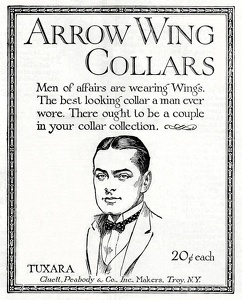 Arrow Wing Collars-1923A