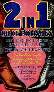 2 in 1 Shoe Polish -1920A