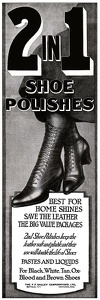 2 in 1 Shoe Polish -1920B