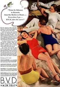 BVD Swimsuits -1934A