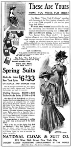 National Cloak and Suit Co. -1908A