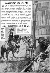 Rider-Ericsson Hot Air Pumps -1900'sA