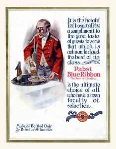Pabst Blue Ribbon Beer -1911A