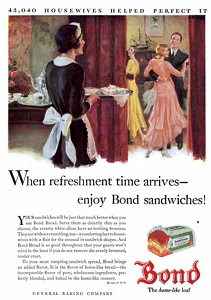 Bond Bread -1930A