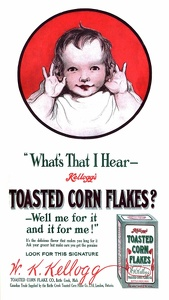 Kellogg's Toasted Corn Flakes -1909A