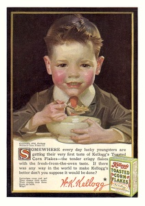 Kellogg's Toasted Corn Flakes -1910'sA